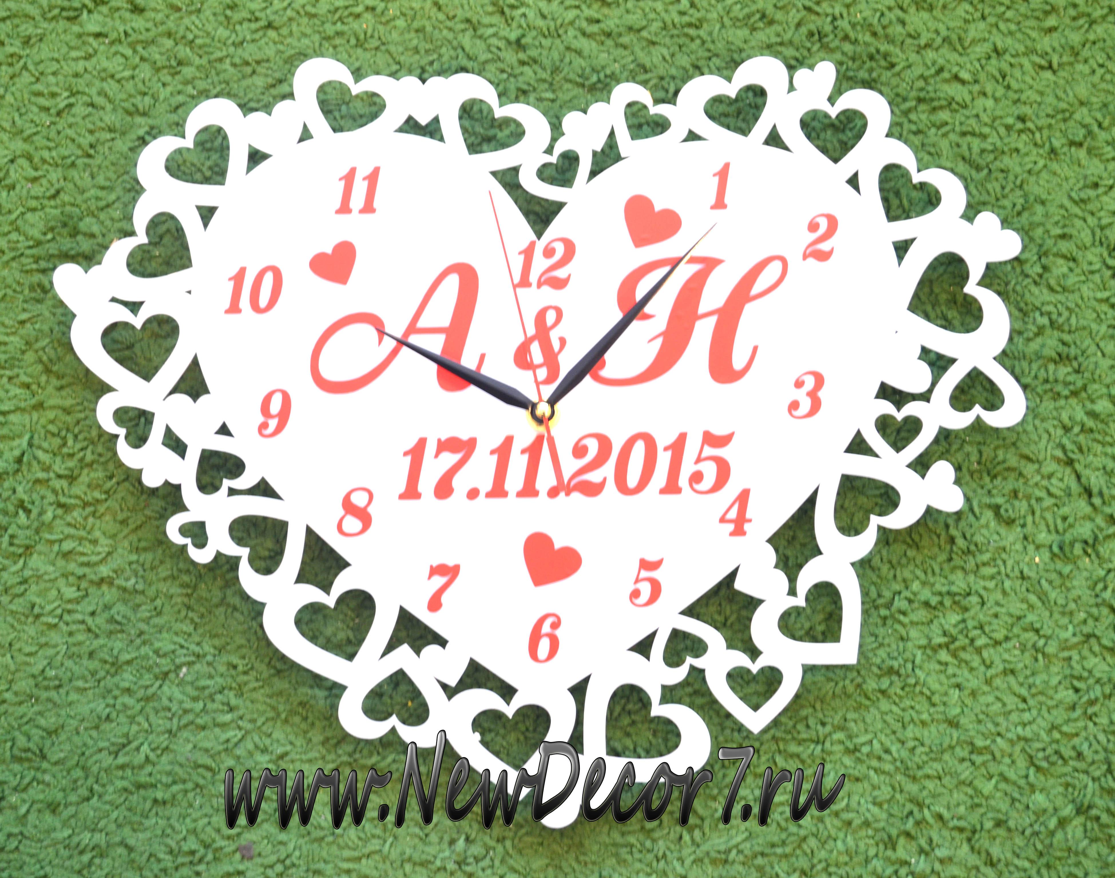 6b4b3dfe Настенные часы Любовь - Интернет-магазин подарков, оригинальных ...